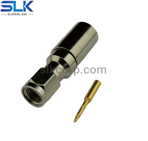 2.92mm plug straight connector for 086 cable 50 ohm 5P9M15S-S01-001